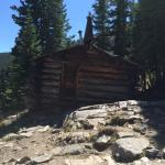 Hiking outside Breckenridge - old Miners cabin