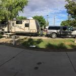 Clean, dog friendly RV park! Would definitely stay again. Nice staff and complimentary breakfast