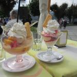 Our Lunch at Lake Orta