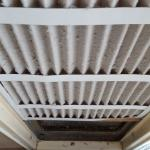 Dirty air filter in room 832