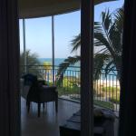 The view from the master bedroom- loved seeing the ocean every day!