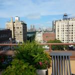 View from rooftop patio, Hotel Wales