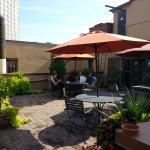 small part of rooftop patio, Hotel Wales