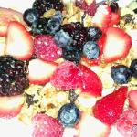 Gourmet fruit & Greek yogurt parfait