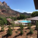 Great location with easy access to Zion National Park entrance within a mile of the hotel.