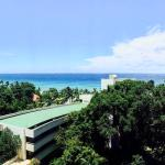 Stunning views from the ocean view rooms, very clean Karon beach at walking distance, friendly s