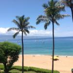 View from our room in Kaui tower.