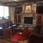 Gathering room w/fireplace