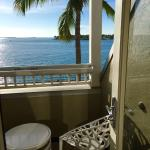 View from inside room at Westin Key West