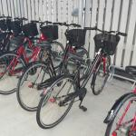 Free breakfast, outdoor courtyard and first 2 rental bikes each day free