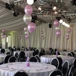 Permanent Marquee setup for our 25th Wedding Anniversay