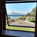 View from 3rd floow window of suite looking West toward Downtown Detroit