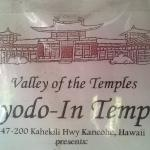Valley of the Temples address
