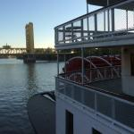View from gangplank