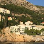 The Villa Dubrovnik from the water