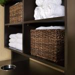 Spa Towel Station