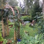 Kettle House with its beautiful garden