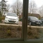 Car spotting from your bed!