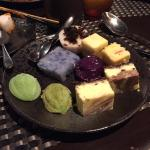 Just a selection of desserts shown from one of the best buffets I have ever been to (hotel resta