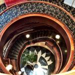 Staircase in the hotel
