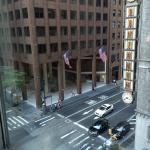 View from my room looking out onto Lexington Avenue and the Waldorf Astoria!