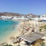 just arrived back in the UK after an amazing holiday in Mykonos. The Petinos Beach Hotel definit