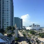 View from room during day - Biscayne Blvd.