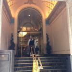 The Mayflower Hotel Entry