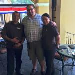 Me, Erick and Vera at the Marriott San Jose in Costa Rica