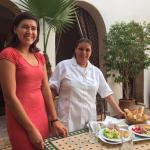 Sweet Saida, great cook and always smiling