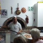 Learning how to make authentic pizza