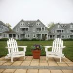 Some of the beautiful adirondack chairs around the property