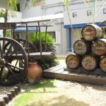 Part of the excursion. Visiting a rum factory