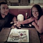Anniversary dinner at Hotel Galvez