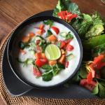Young Coconut Soup