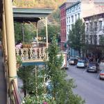 Jim Thorpe Inn view of the balcony