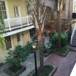 Hermann House courtyard
