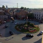 View from 6th Floor Room - Gettysburg Hotel