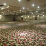 A large ballroom/conference room