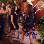 Two of our party on the dance floor!