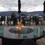 Fire Pits on the Decking
