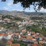View of Funchal from balcony