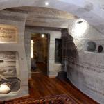 Entry room of cave suite