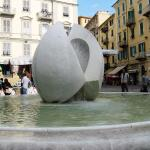 The central fountain, La Spezia