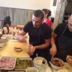 """Truly Israeli street food at its best ... Chef Eyal Shani's """"all in"""" a Pita Bread - both for mea"""