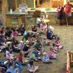 One of the many free kids events at lodge.