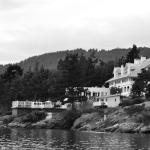 Moran Mansion view from the floatplane dock