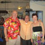Peter, owner of Pickled Greek with us
