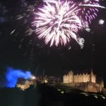 Fireworks from the Military Tattoo