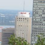 Marriott from Mount Royal
